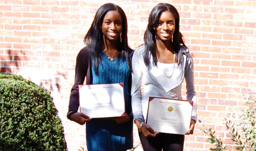 Sharonne '12 and Shavonne Casimir '12